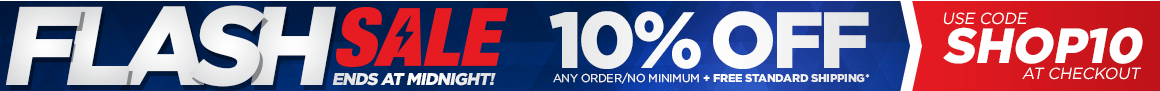 FLASH SALE! 10% OFF - Use code SHOP10 at checkout