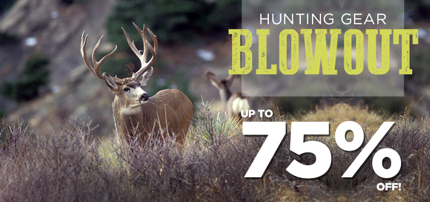 Hunting Gear Blowout