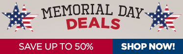 Shop our Memorial Day Deals