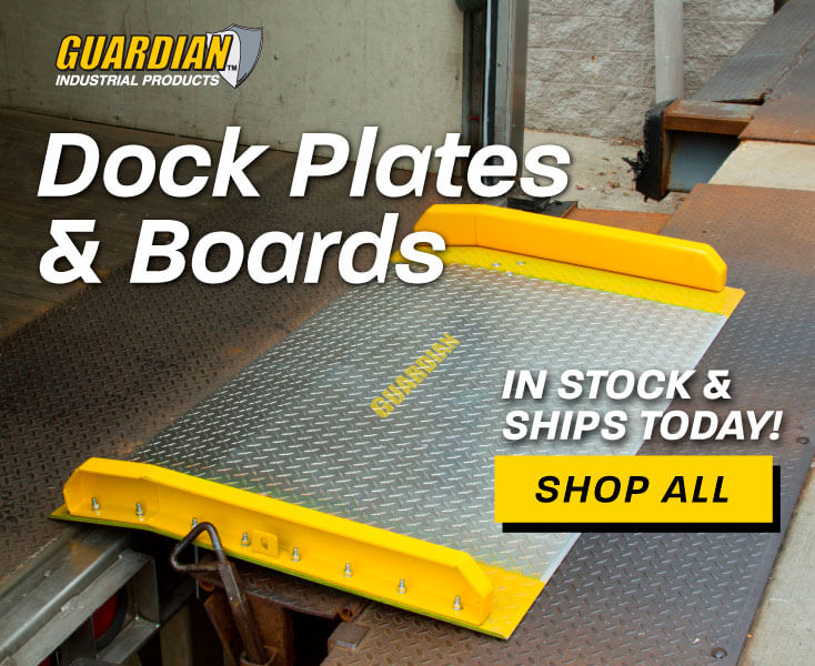 Dock Plates & Boards In Stock & Ships Today - Shop Now!