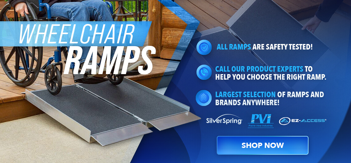 Shop All Wheelchair Ramps Today!