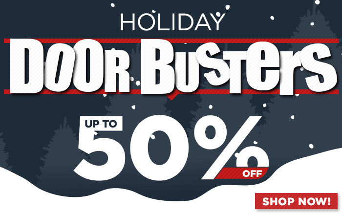 Holiday Doorbusters - Shop All