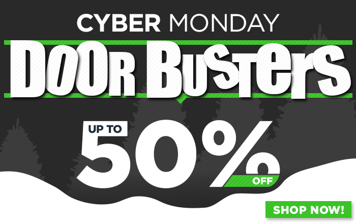 Shop all Cyber Monday Doorbusters!l