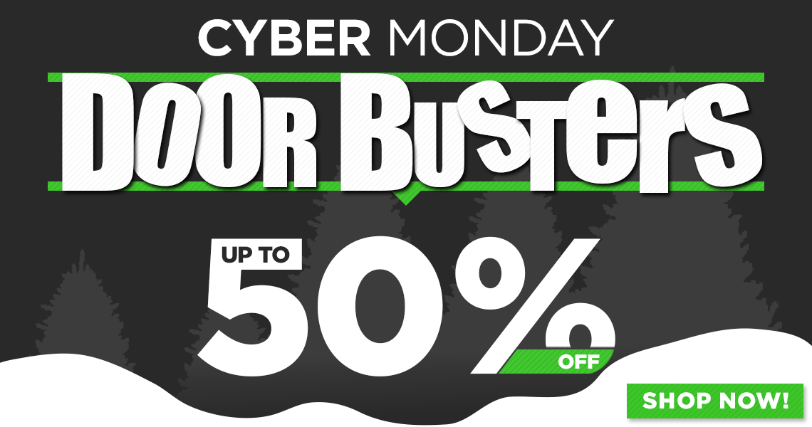 Shop all Cyber Monday Doorbusters!