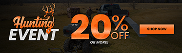 HUNTING EVENT up to 20% Off - Shop Now!