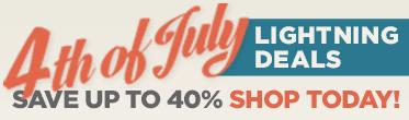 Shop 4th of July Lightning Deals!