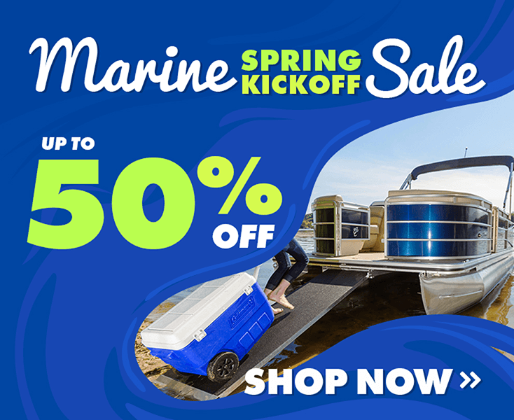 Marine Spring Kickoff Sale - Save up to 50% Off!