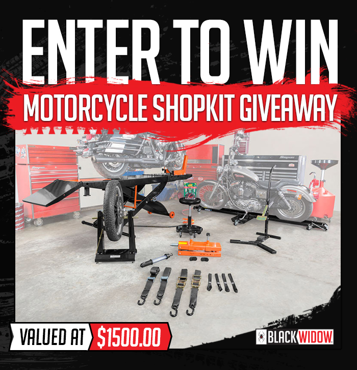 Enter to Win - Motorcycle Shop Kit Giveaway - Valued at 1500- Enter to Win>
