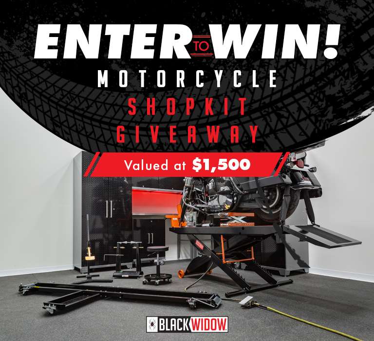 Enter to Win - Motorcycle Shop Kit Giveaway - Valued at $1500 - Enter to Win>