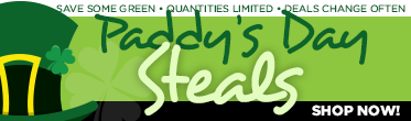 Shop our Paddy's Day Steals