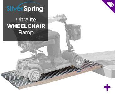 Silver Spring Ultralite Wheelchair Ramp - Shop Now!