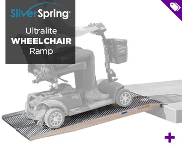 Silver Spring Ultralite Wheelchair Ramp - Shop Now!