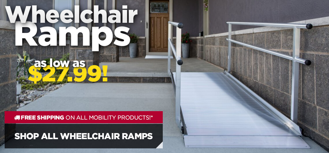 Wheelchair Ramps from $27.99 - Shop All