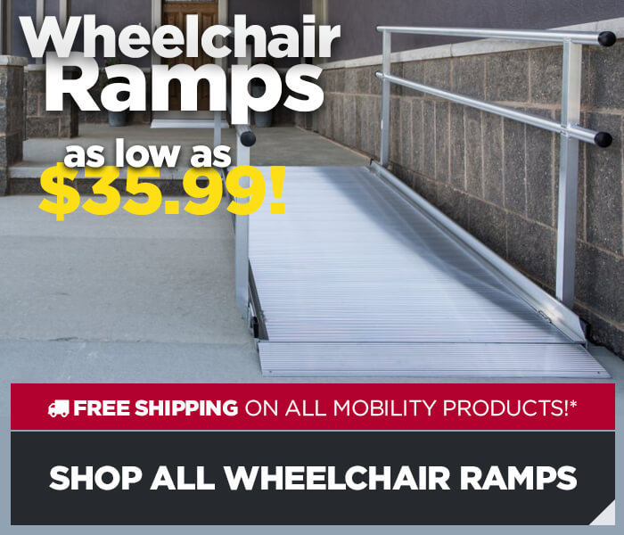Wheelchair Ramps from $35.99 - Shop All