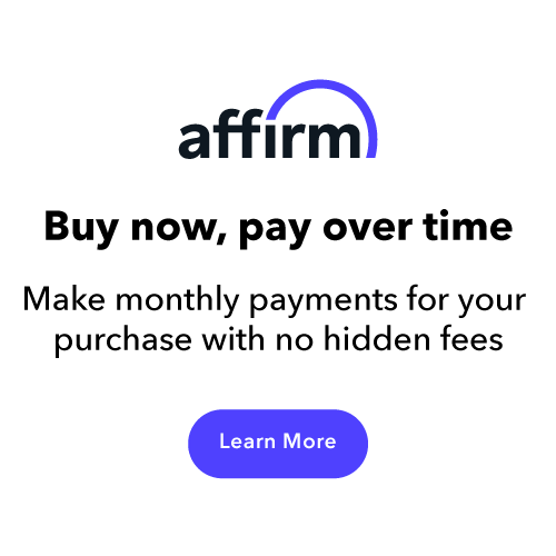 Affirm: Buy now, pay over time.