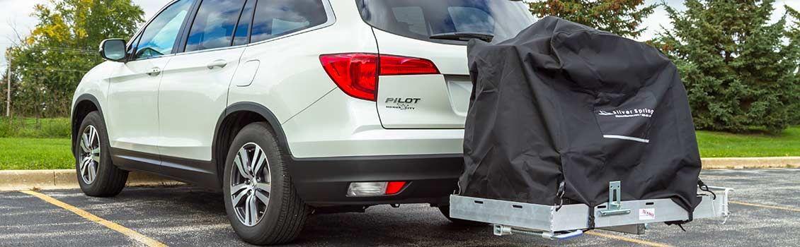 Tilt-a-Rack Wheelchair Carrier