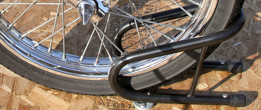 How to Use a Motorcycle Wheel Chock