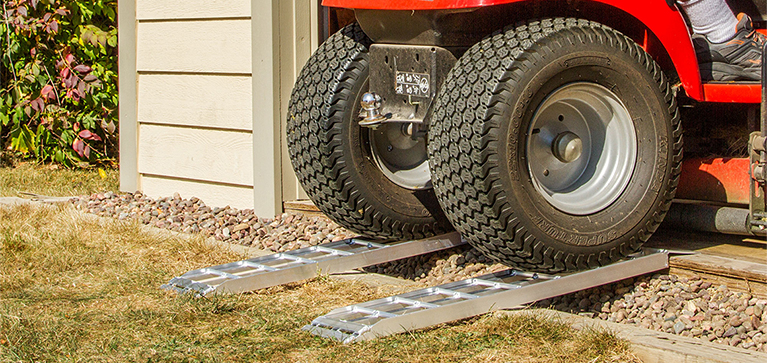 Garden Tractor Ramp Calculator