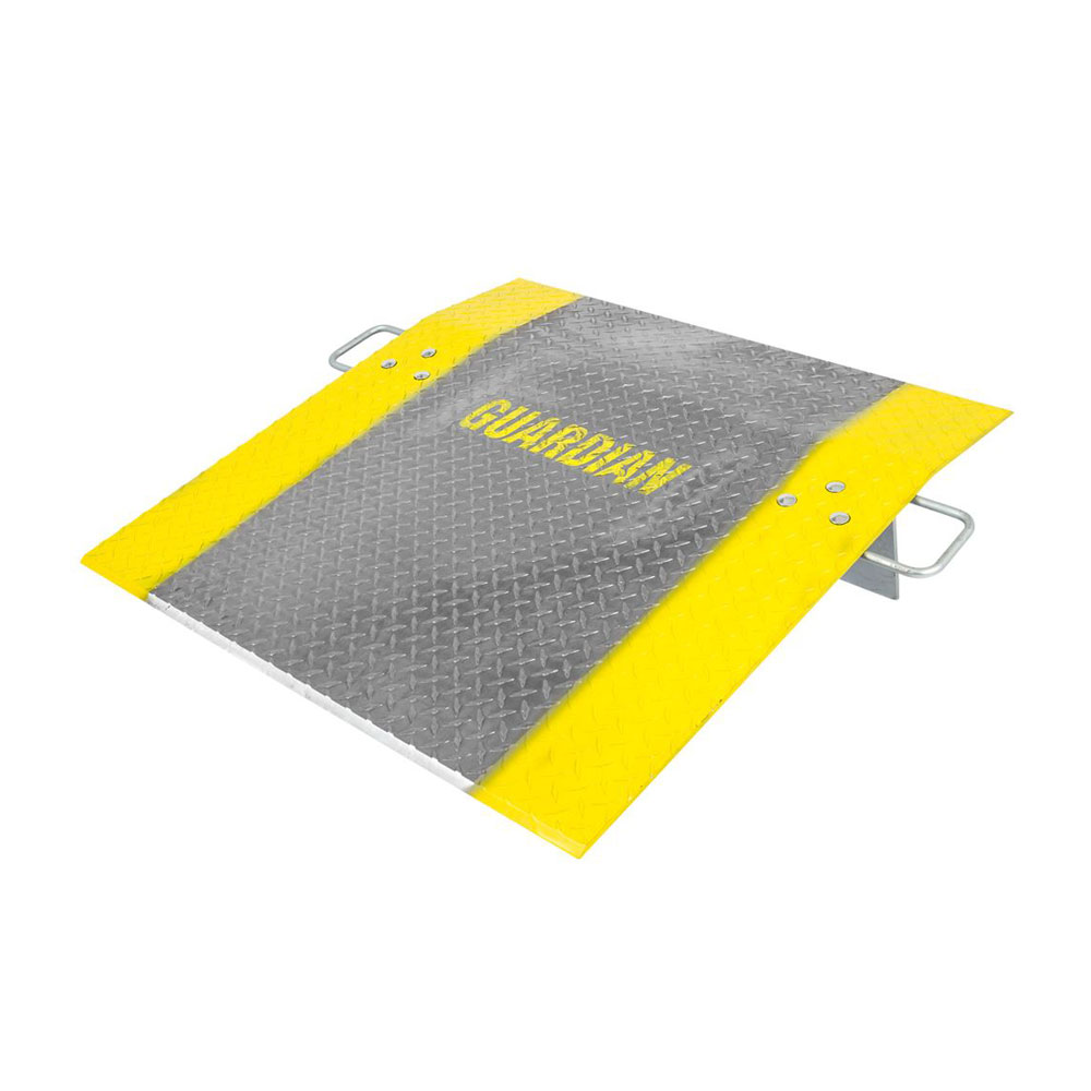 perforated punch dock plate