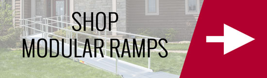Shop modular wheelchair ramps