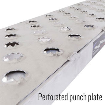 EZ Traction punch plate surface