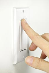 Rocker light switch