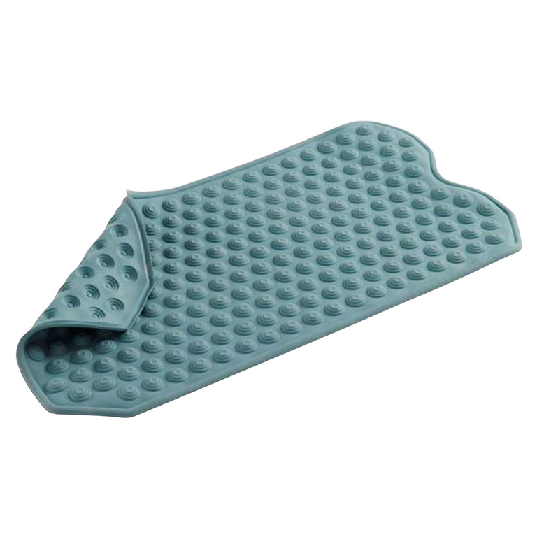 Place non-skid mats on your bathroom floor