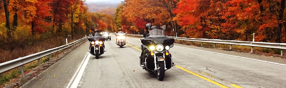 The 10 Best Fall Motorcycle Rides