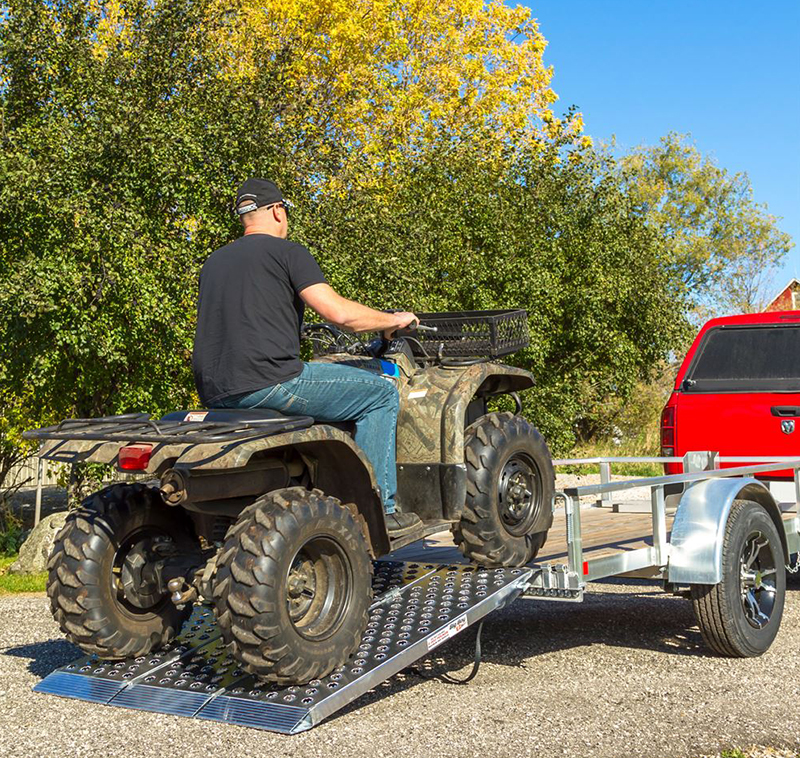 Decide how you will be transporting your ATV