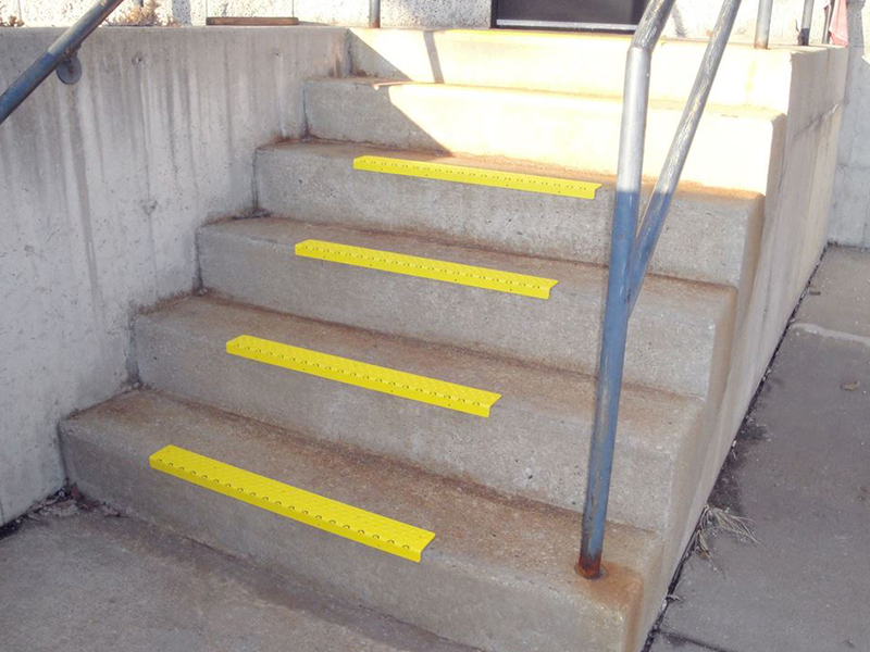 Prevent slipping accidents with non-slip stair treads