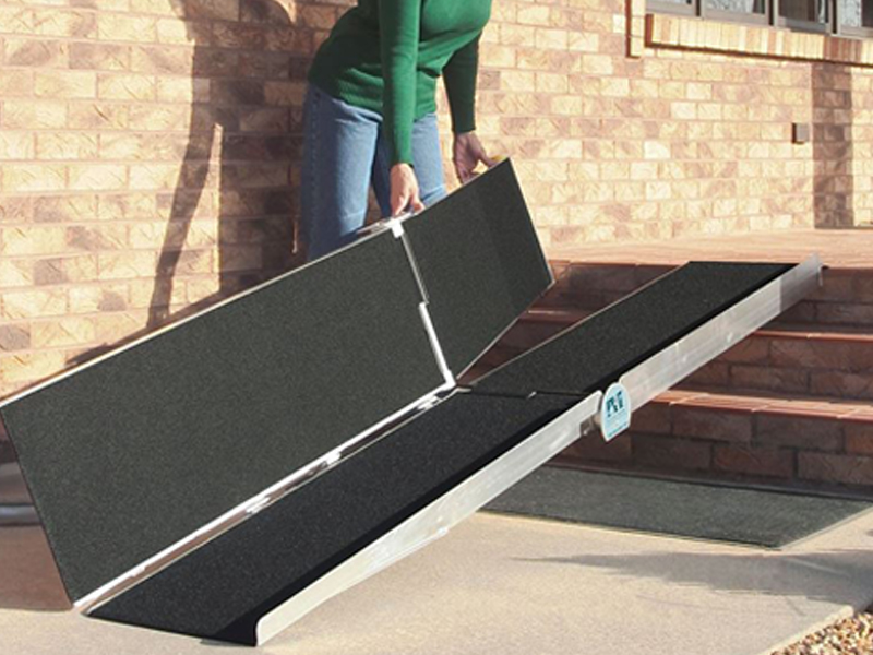 Multi-Folding Wheelchair Ramps