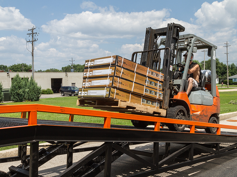 Measure the width of your widest equipment and/or cargo