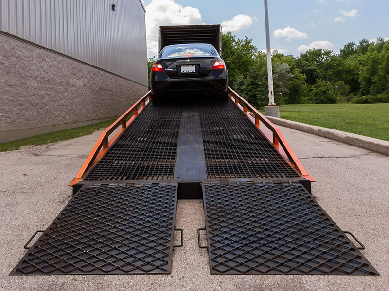 Determine if you need a stationary or portable ramp