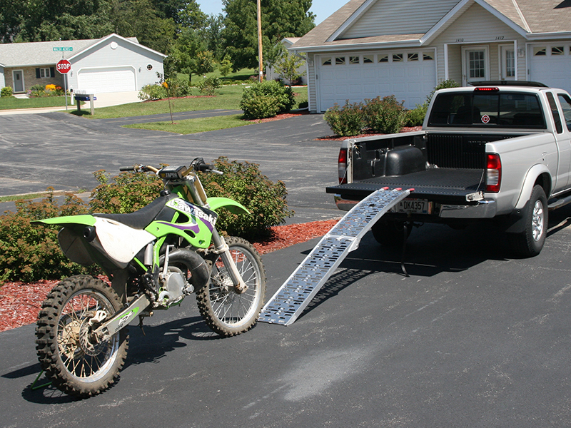 Loading the Dirt Bike: Step 1