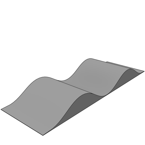 Wave ramps
