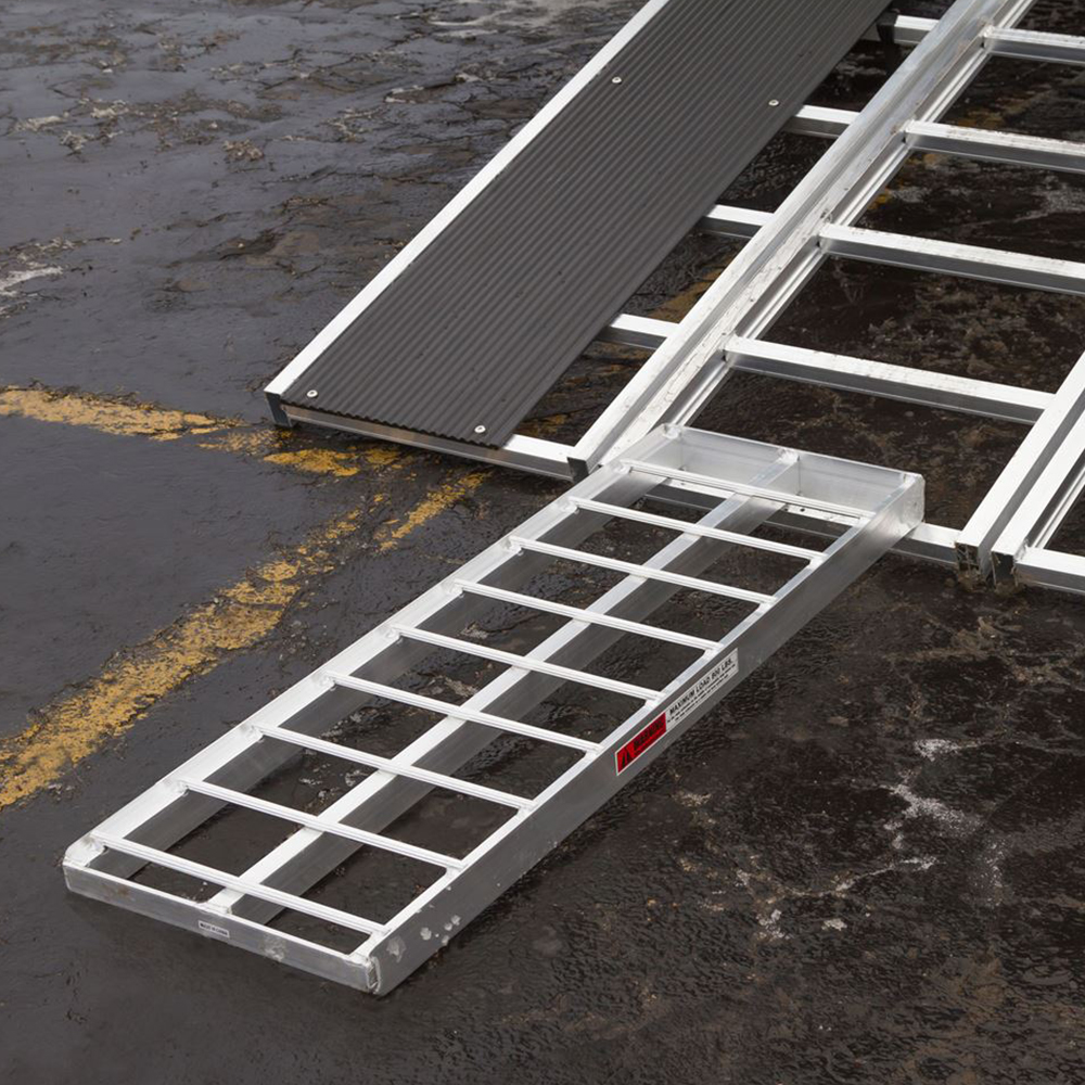 Make sure your ramp is appropriate for your snowmobile