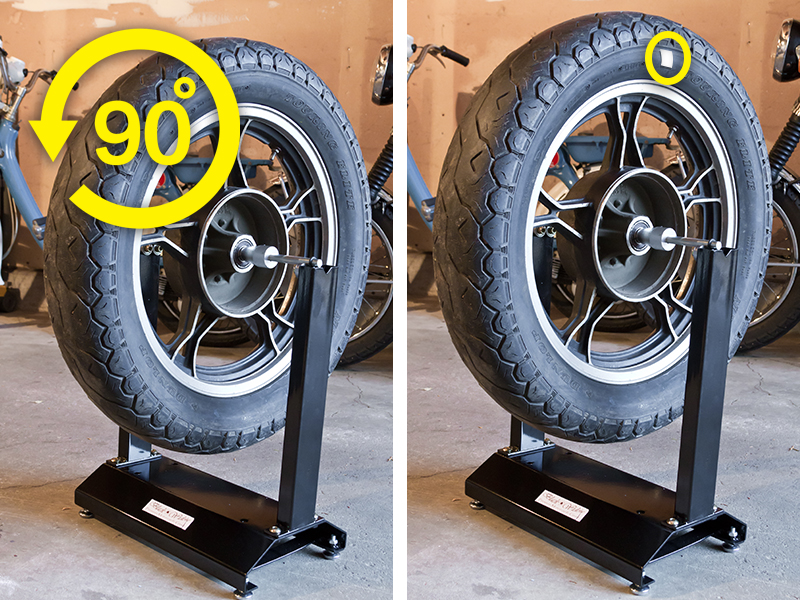 The Best Way to Balance a Motorcycle Tire Yourself