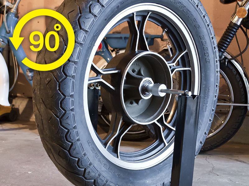 Recheck the wheel balance after adding the counterweights
