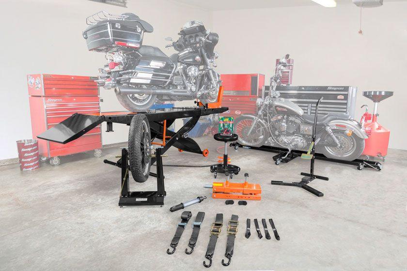 Black Widow Motorcycle Shop Kits