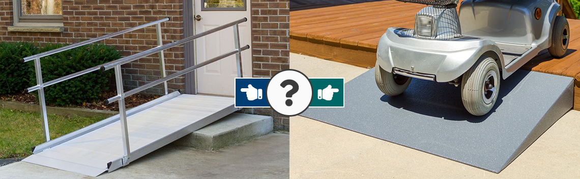 How to Choose the Correct Wheelchair Ramp