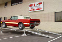 Classic car custom ramps and stand