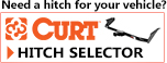 Find the right trailer hitch with the Curt hitch selector