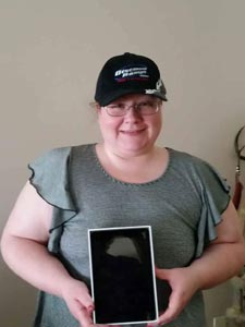 Cindy - our July winner