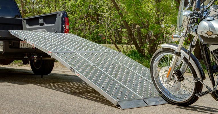 How To Determine Proper Motorcycle Loading Ramp Length