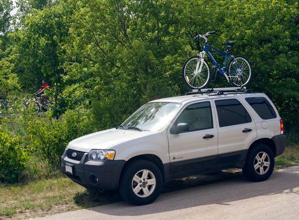 Roof Mount Single Bike Rack