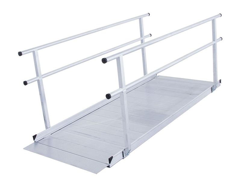Silver Spring SSGHR Wheelchair Access Ramps with Handrails