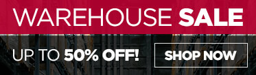 Shop our Warehouse Sale - Up to 40% Off!