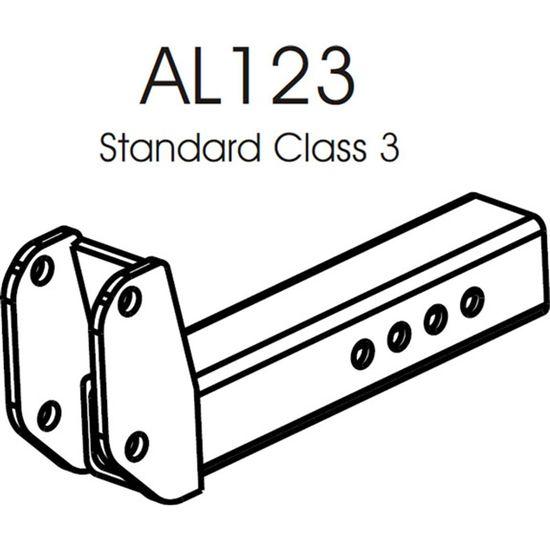 AL123 Harmar Class III Hitch Adapter