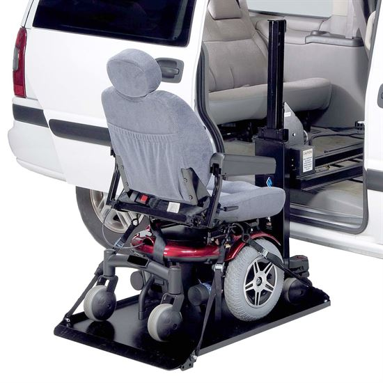 Harmar® Axis I Electric Inside Vehicle Power Chair & Scooter Lift - 250 lb Capacity