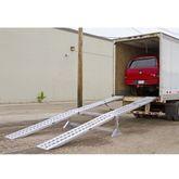 05-20-240 Aluminum Modular Truck Trailer Ramp System for Dry Van - 5000 lb per axle Capacity 1